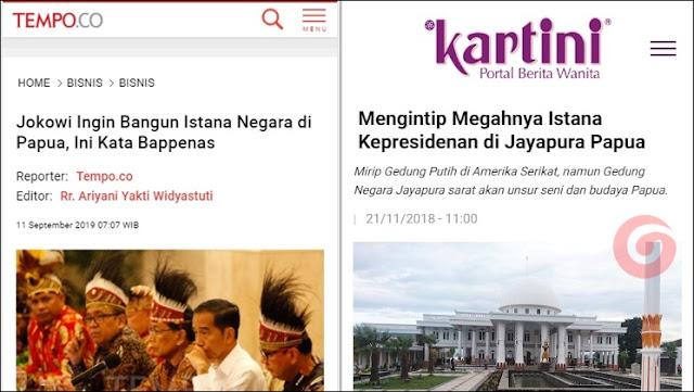 Istana Presiden Sudah Ada di Papua, Kenapa Jokowi Mau Bangun Lagi?