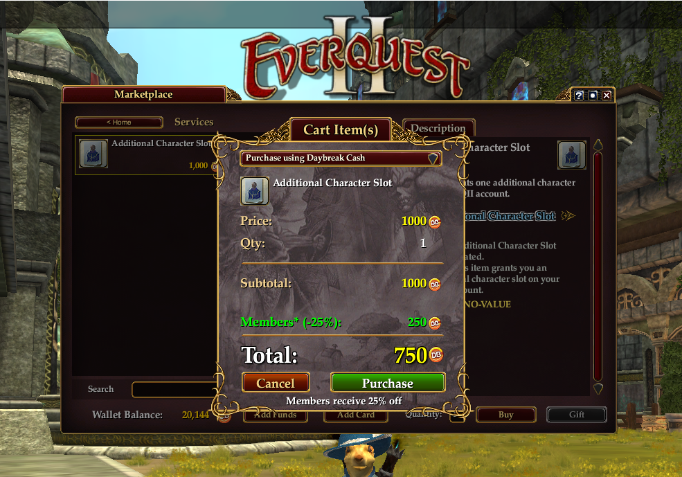 Inventory Full: Never Enough : Free Heroic Characters For EQ2 (Again!)