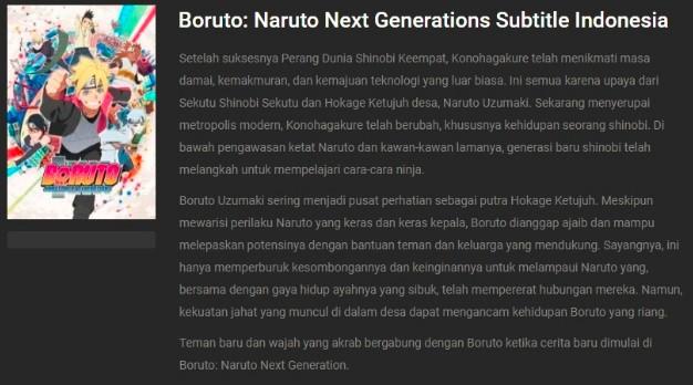 Situs Untuk Download Film Boruto Terbaru 2020