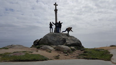 Cross of the Dead Coast at Finisterre
