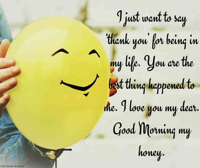 cute good morning msg for husband