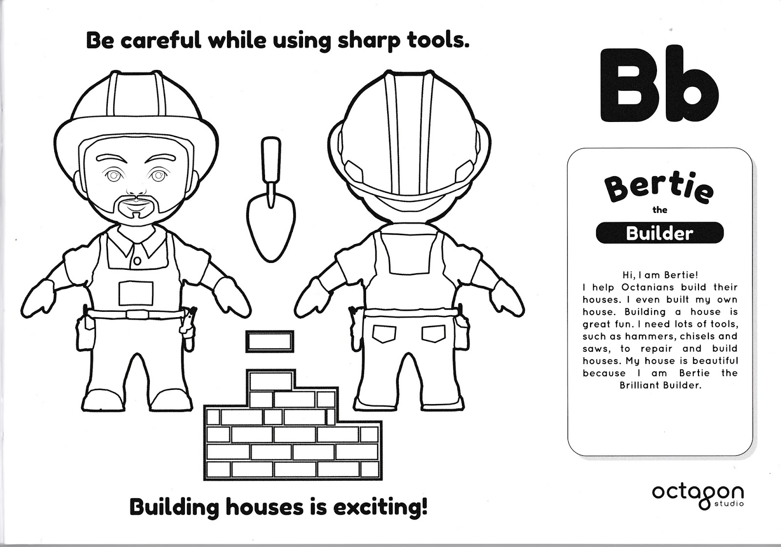 Augmented reality coloring pages ~ Augmented Reality (AR) -Octaland 4D+ Color Me - Weekend Treat