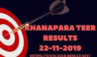 Khanapara Teer Results Today-22-11-2019