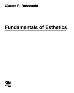Fundamentals of Esthetics by Rufenacht
