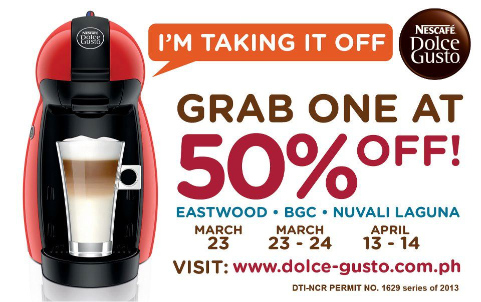 nescaf dolce gusto promo sale and promos. Black Bedroom Furniture Sets. Home Design Ideas