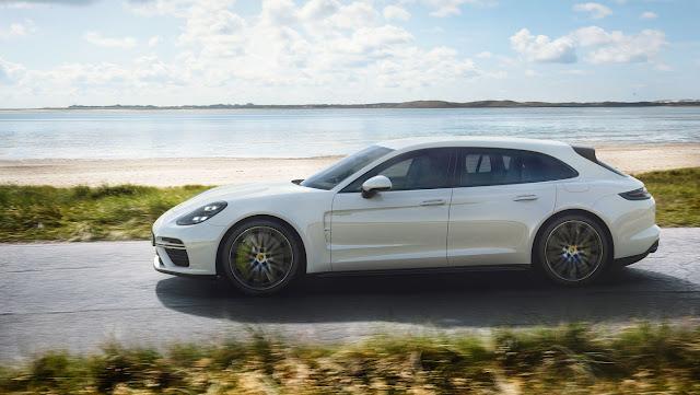 Porsche Panamera Turbo S E-Hybrid Sport Turismo Reaches 200 km/h in 8.5 Seconds
