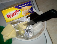 VELVEETA Queso Blanco *delicious*! mac & cheese, chile, nachos