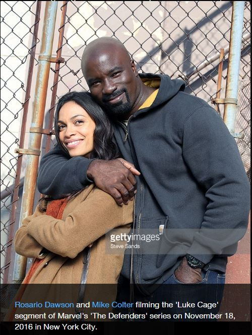 Os defensores marvel netflix luke cage claire temple