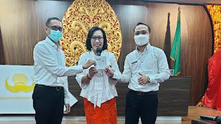 Santy Sastra,  Public Speaking di Kegiatan Orientasi Kerja Calon Dosen Tetap di Lingkungan Yayasan Kesejahteraan Korpri Bali