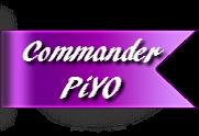 commander PiYO