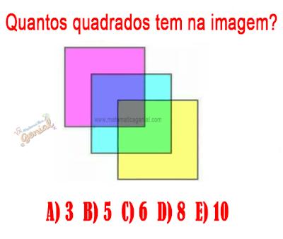 Desafio - quantos quadrados tem na imagem?