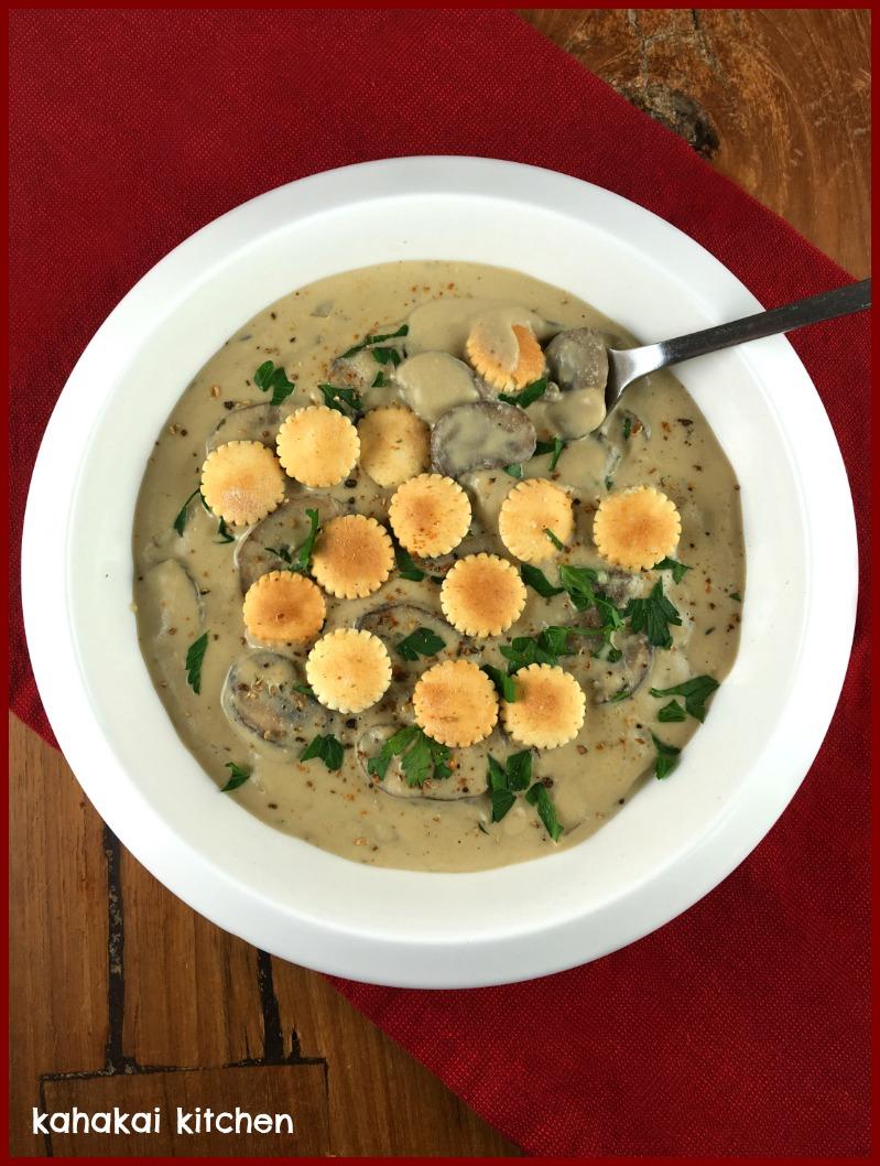 ... Kitchen: (Vegan) Creamy Porcini Mushroom Soup for Souper Sundays