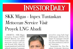 SKK Migas - Inpex Completes Metocean Service Visit for Abadi LNG Project