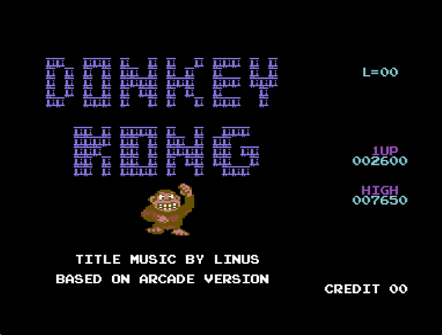 Indie Retro News Donkey Kong X2016 Version Jumpman Is Back On The C64