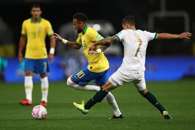 ملخص واهداف مباراة البرازيل وبوليفيا (5-0) تصفيات كأس العالم