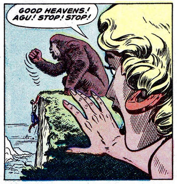 Pappys Golden Age Comics Blogzine Number 1143 Lorna and the