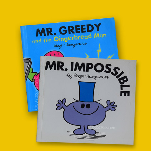 Roger Hargreaves Mr Men series in Port Harcourt, Nigeria.