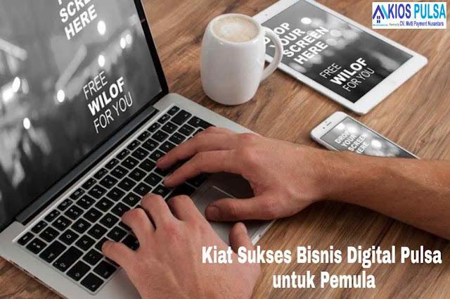 Kiat Sukses Bisnis Digital Pulsa untuk Pemula