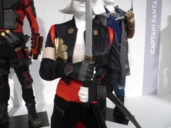 Suicide Squad Katana movie costume detail