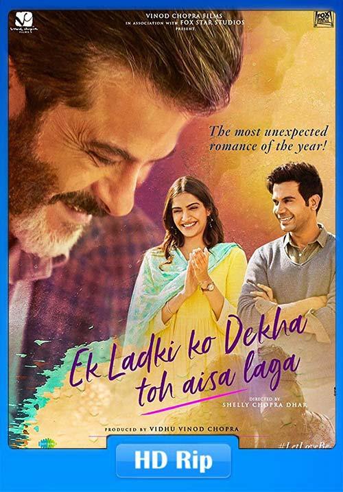 Ek Ladki Ko Dekha Toh Aisa Laga 2019 Hindi 720p WEBRip ESubs | 480p 300MB | 100MB HEVC