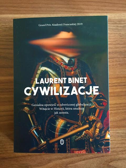 """Recenzje #178 - """"Cywilizacje"""" - okładka książki pt. """"Cywilizacje"""" - Francuski przy kawie"""