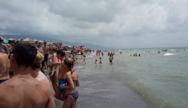Two dead due to sea storm in Albania coast