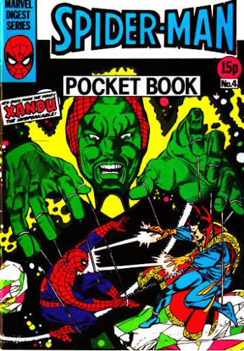 Spider-Man pocket book #4, Xandu and Dr Strange