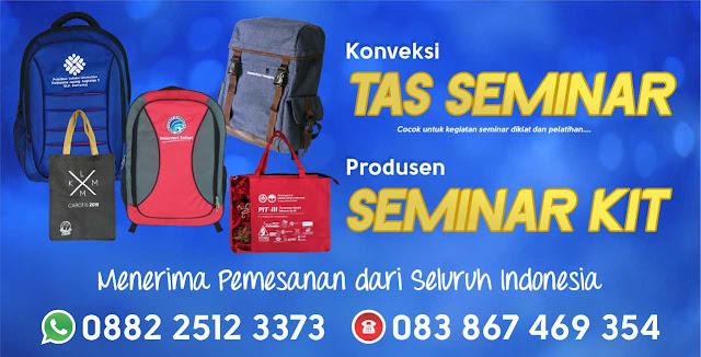 Konveksi Tas Seminar Kit Murah Palembang, Sumatera Selatan