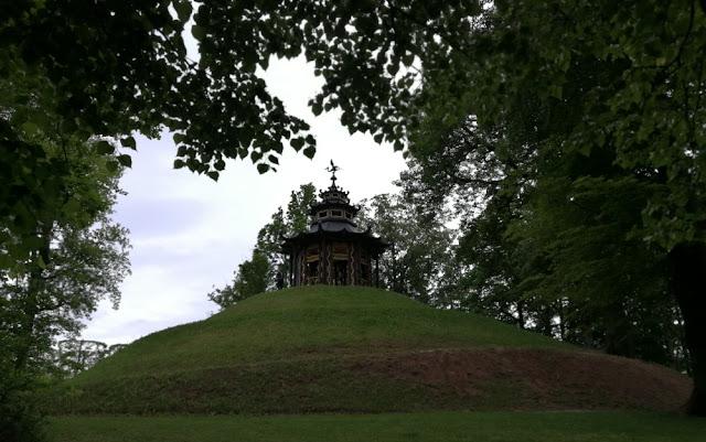 Eremitage Bayreuth - Chinesischer Pavillon auf dem Scneckenberg