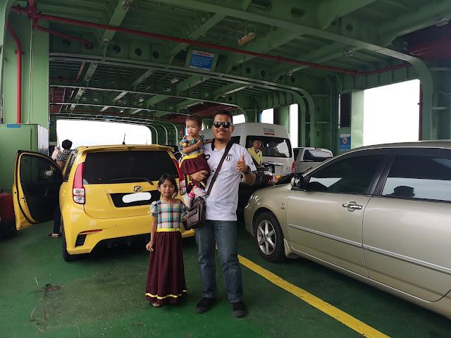 Pergi Pulau Pinang Naik Kereta di Feri Terminal Sultan Abdul Halim