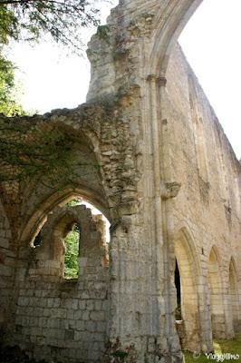 Ruderi del complesso dell'Abbaye de Jumieges
