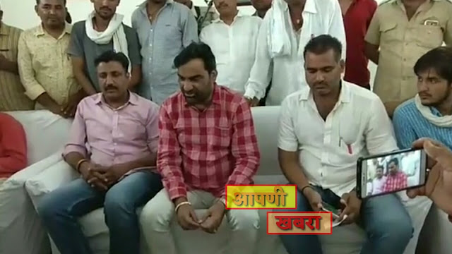 hanuman beniwal press varta jodhpur, today live Hanuman Beniwal in Jodhpur