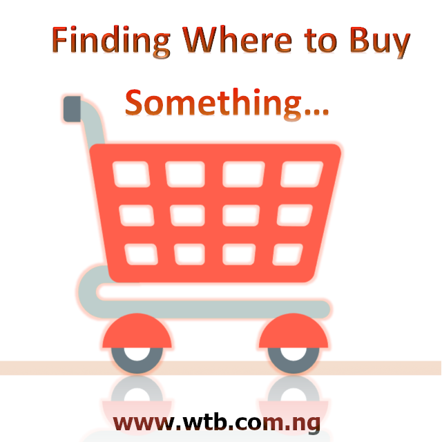 Finding where to buy something you need the most