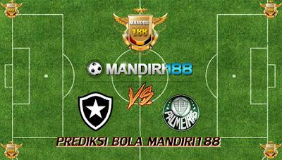 AGEN BOLA - Prediksi Botafogo RJ vs Palmeiras 3 Agustus 2017