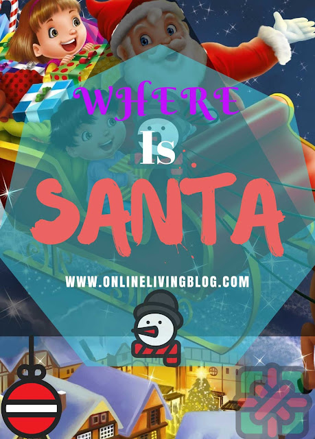 Merry Christmas! Where is Santa? Use Google Santa tracker to find him. Merry Christmas and happy new year.