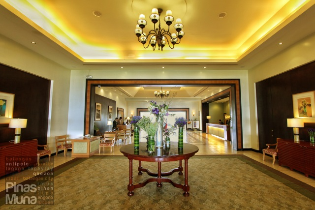 Reception Area of Taal Vista Hotel