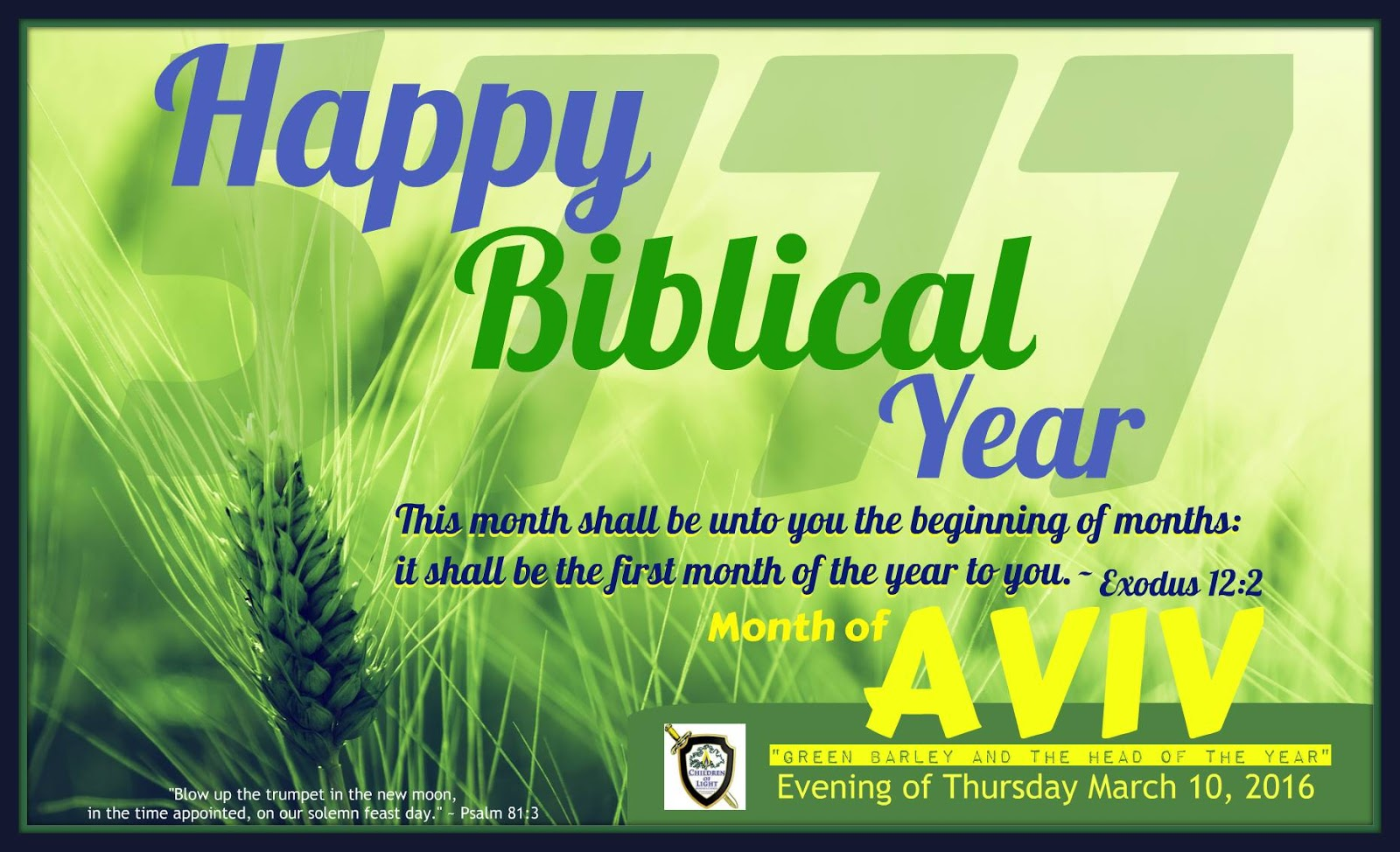 happy 5777 biblical new year