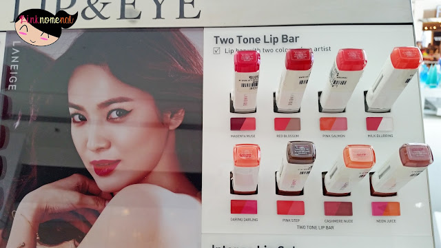 Song Hye Kyo Laneige SM Mall of Asia - www.pinknomenal.blogspot.com