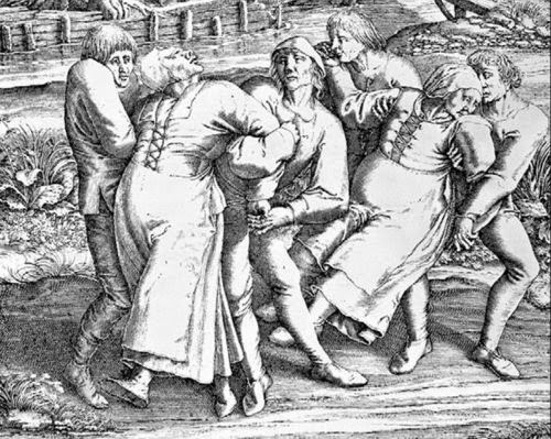 Wabah menari misterius