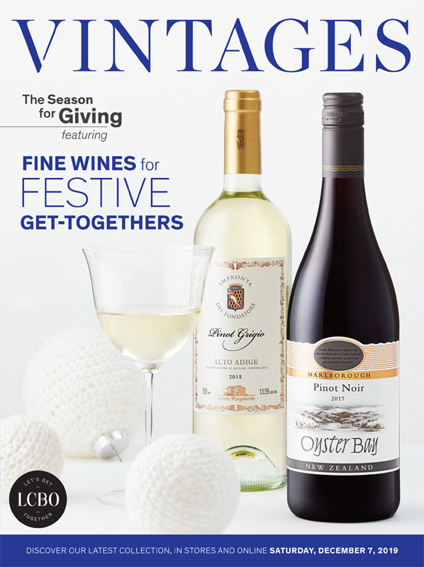 LCBO Wine Picks: December 7, 2019 VINTAGES Release