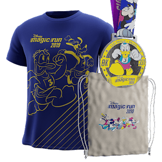Kit coureur 8 km Disney Magic Run Sao Paulo 2019