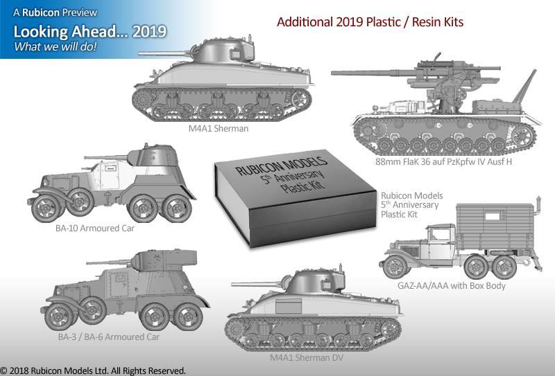 WORLD WAR 2 MODELZONE: Rubicon Models News for 2019