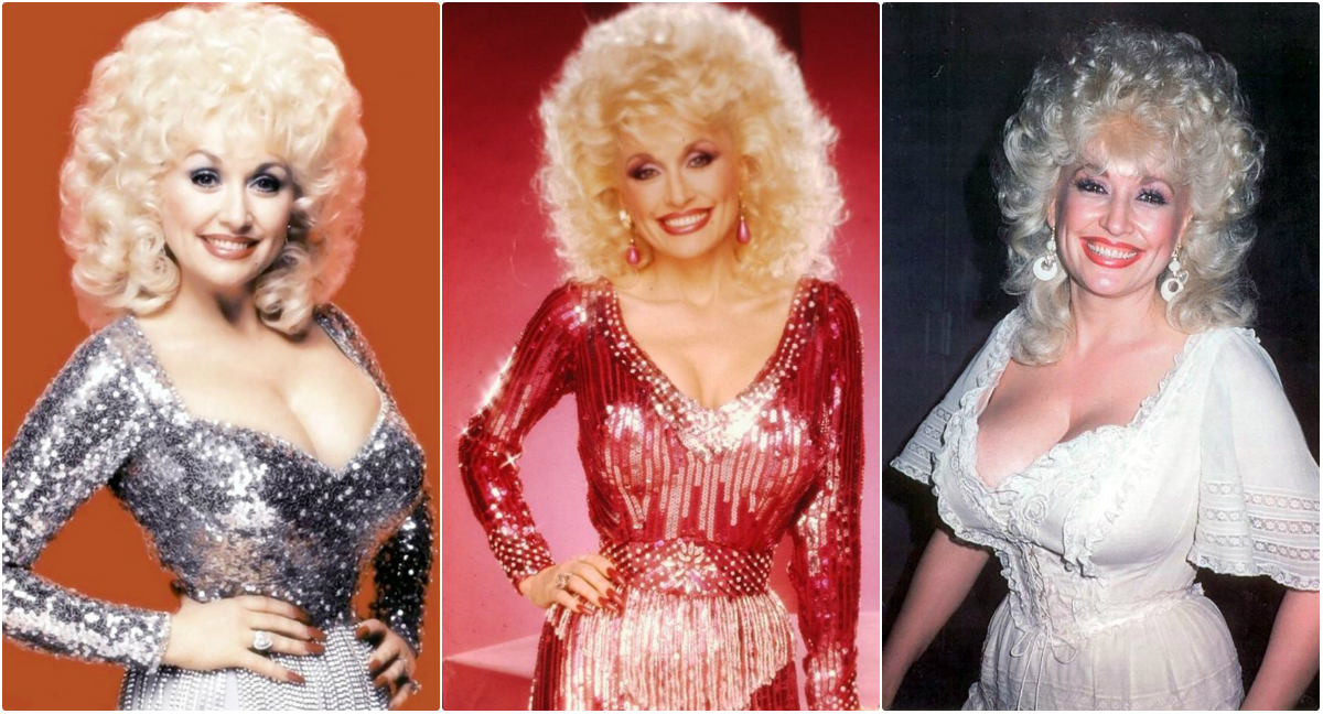 30 Gorgeous Photos That Defined Fashion Styles of Dolly Parton in the 1980s