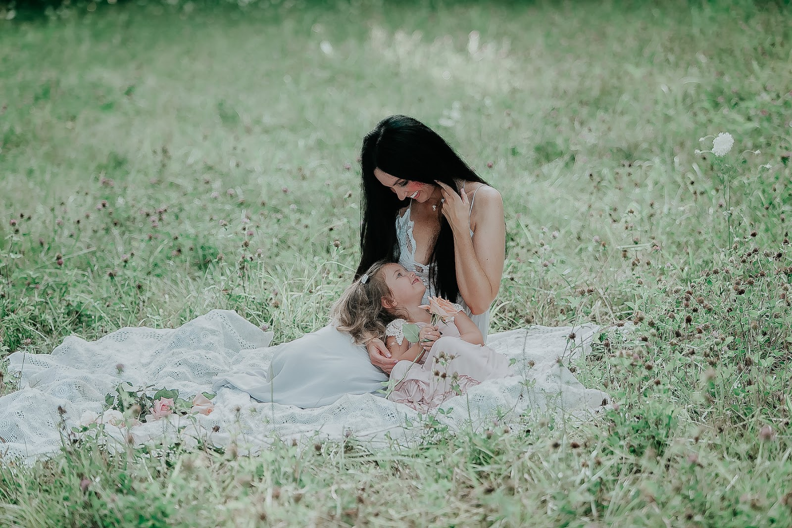 I Have Loved You For a Thousand Years - Mommy & Daughter Photos