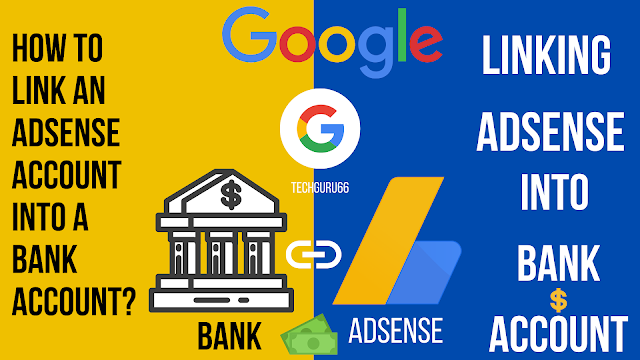 How to link an Adsense account into a bank account