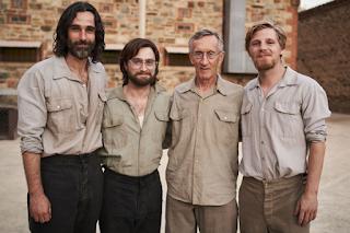 On set of Escape from Pretoria