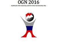 Soal dan Pembahasan Olimpiade Guru Nasional (OGN) Matematika 2017 Tingkat Nasional