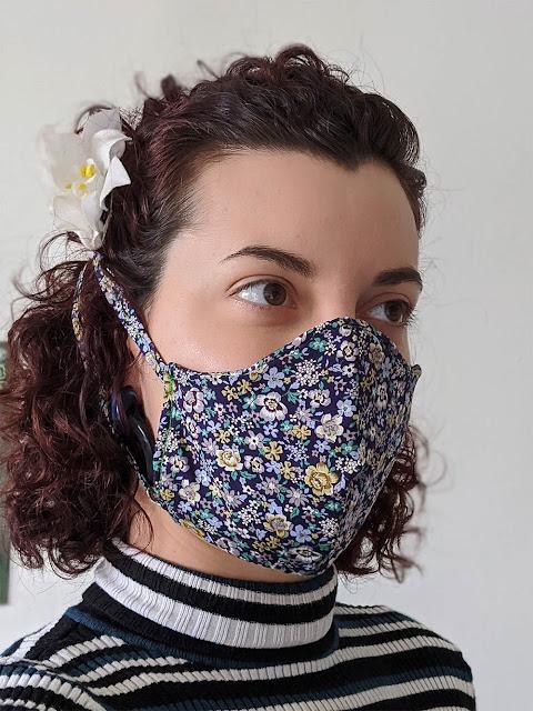 masque en tissus artisanal pour les non professionnels