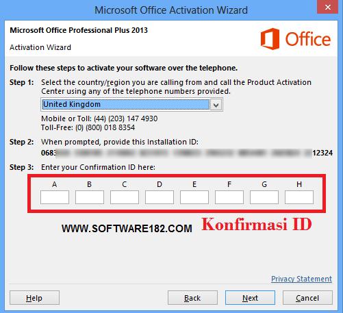 Cara Aktivasi Office 2013 Melalui Skype + Video