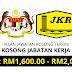 Jawatan Kosong JKR - Pegawai Geomatik Gred 41 & Pembantu Tadbir Gred 19